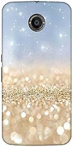 Snoogg Sands Or Crystals Designer Protective Back Case Cover For Google Nexus 6
