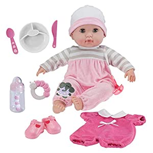 """Best Epic Trends 419ajemomTL._SS300_ 15"""" Realistic Soft Body Baby Doll with Open/Close Eyes 