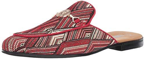 (STACY ADAMS Men's Sterling Bit Slip-On Mule Loafer red/Multi 8.5 M)