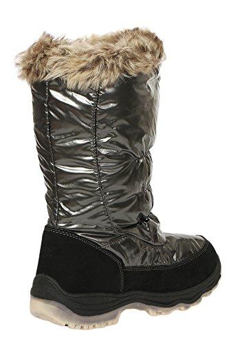 Cleostyle Caldo 012 Inverno Neve Idrorepellente Nuovo Donna Cl Da Stivali 67141 Rivestimento Termici Pelliccia Teddy rpTrwARq