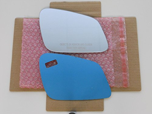 - New Replacement Mirror Glass with FULL SIZE ADHESIVE for Various BMW Models Passenger Side View Right RH