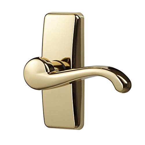 Ideal Security Inc. SKGLWBB GL Lever Set for Storm and Screen Doors A A Touch of Class, Easy to Install, Brass E-Coat