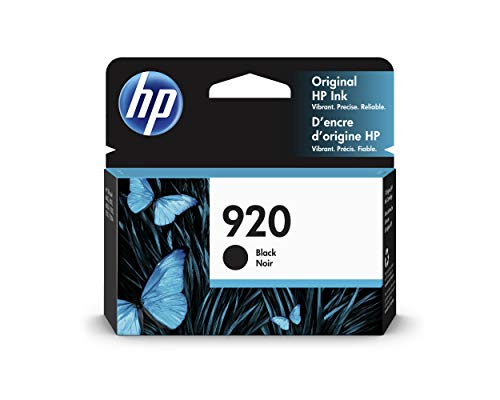 HP 920 | Ink Cartridge | Black | CD971AN (Hp 920 Black)