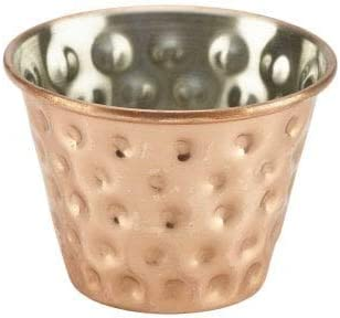 2.5oz 70ml kitchen stars Pack of 4 Premium Brushed Stainless Steel Commercial Grade Ramekins Condiment Sauce Cups Serving Pots Dip Bowls