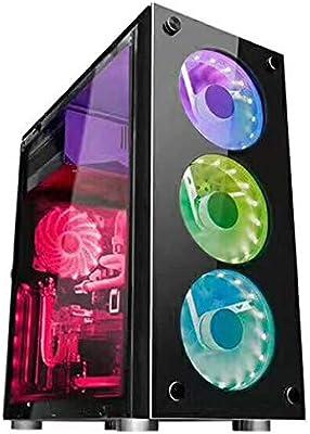 Side - Carcasa para ordenador (ATX y PC), transparente: Amazon.es ...