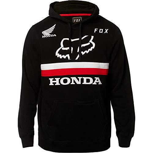 Fox Racing Honda Pullover Hoodie-Black-2XL