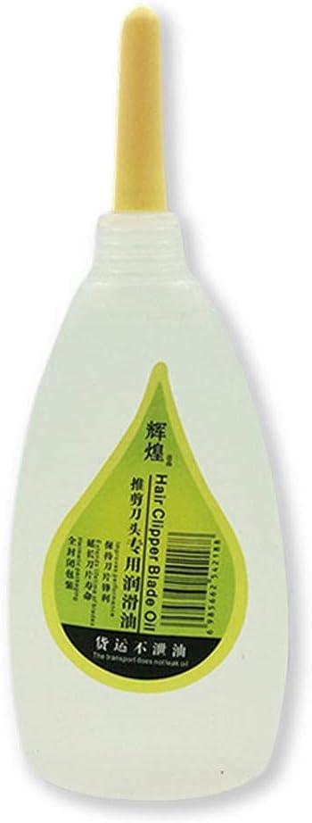 LUCYPAPASHOW Aceite lubricante de Mantenimiento 50ML para cortapelos, máquinas de Afeitar eléctricas, Tijeras de Corte de Cabello, lubricante para máquinas de Coser Effective