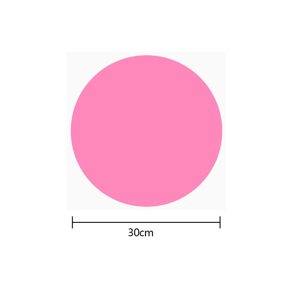 YOTINO 10 Pezzi Cerchi Adesivo Lavagna Adesivi Rimovibili Cerchi in 10 Colori da Parete Adesivo Punto Murale per Bambini Scrivere e Dipingere