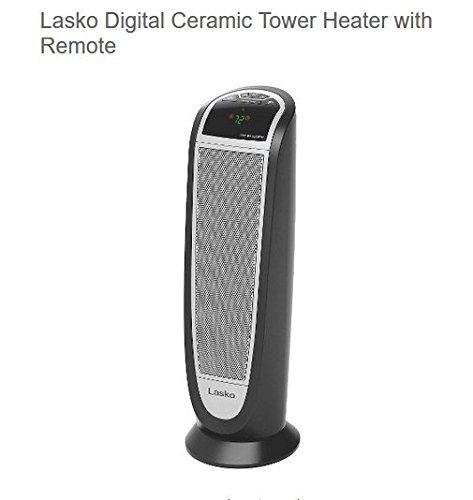Lasko Digital Ceramic Heater with Remote Control Ceramic Ceramic Heaters Control Digital Heater Lasko Lasko Remote with