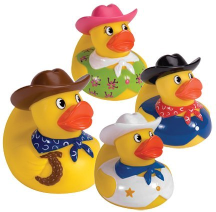 Cowboy Rubber Duck - Cowboy Rubber Duck (only one included)