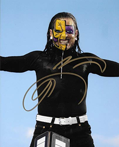 (Jeff Hardy Wwe Tna Charismatic Enigma Signed Autograph 8x10 Photo #4 - Autographed Wrestling Photos)