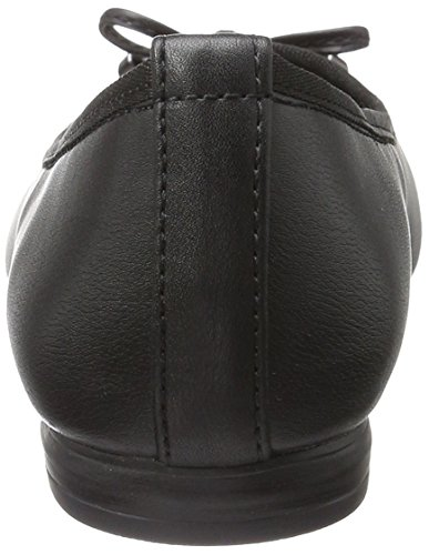 Marco Tozzi 22137, Women's Closed Ballerinas Black (Black Antic 002)