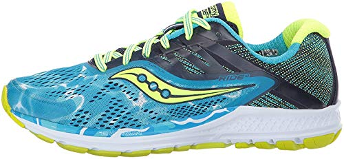 Saucony Women's Ride 10 Running Shoe, Grey Berry, 7 Medium US