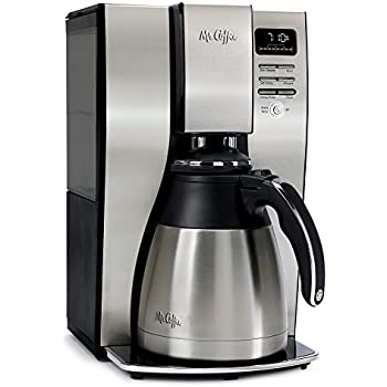 Mr. Coffee 10-Cup Optimal Brew Thermal Coffee Maker, Stainless Steel