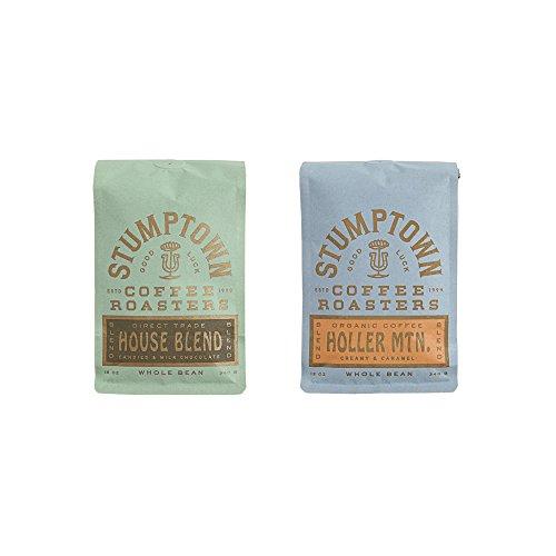 Stumptown Coffee Roasters Whole Beans- House Blend & Holler MTN Bundle, 12 oz ()