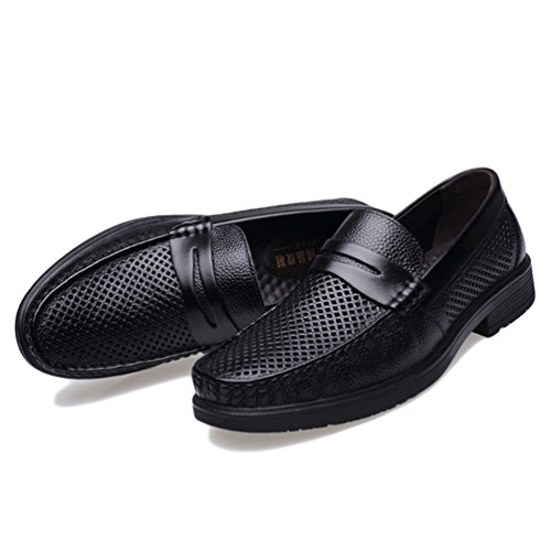 Sintético Feidaeu de Negro Hombre Zapatos qp6U68xgw