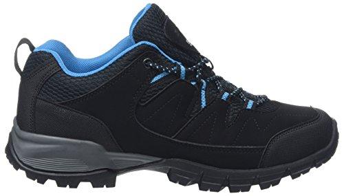 Regatta Lady Holcombe, Zapatos de Senderismo Mujer Negro (Black/methyl)