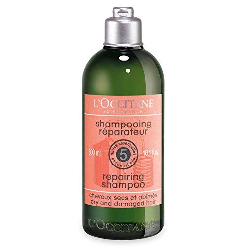 L'Occitane Aromachologie Repairing Shampoo with 5 Essential Oils, 10.1 fl. oz.