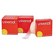 Universal Invisible Tape 3/4 x 1000 Inches, 1-Inch Core Clear, 6/Pack (UNV83410)
