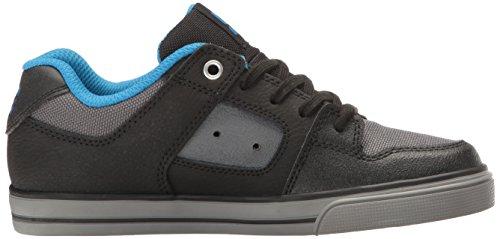 DC Herren Reiner SE Skateschuh Schwarz / Grau / Blau
