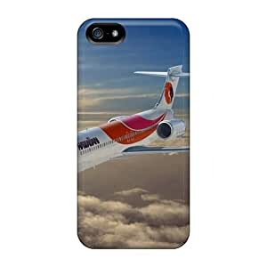 Hot Desktop Wallpapers Aircraft Two Wings First Grade Tpu Phone Case For Iphone 5/5s Case Cover