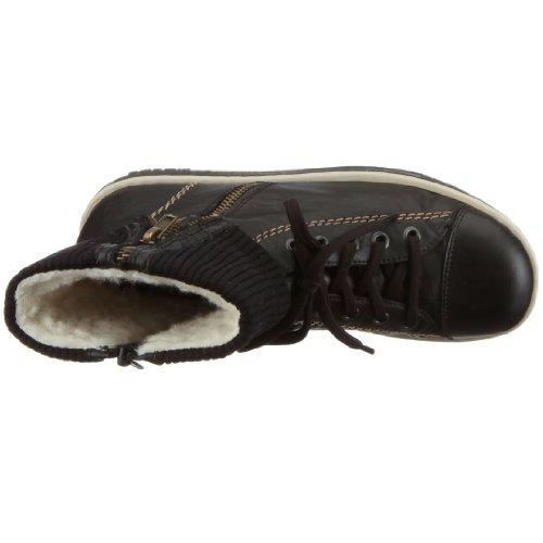 Rieker Z8760-00 - Zapatillas altas, color: Negro Negro