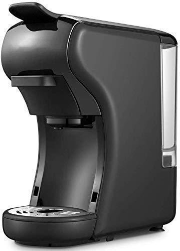 COOLSHOPY Máquina de café, Hogar Pequeño automática Cafetera exprés, 3-en-1 Multi-función del café Express de la máquina…