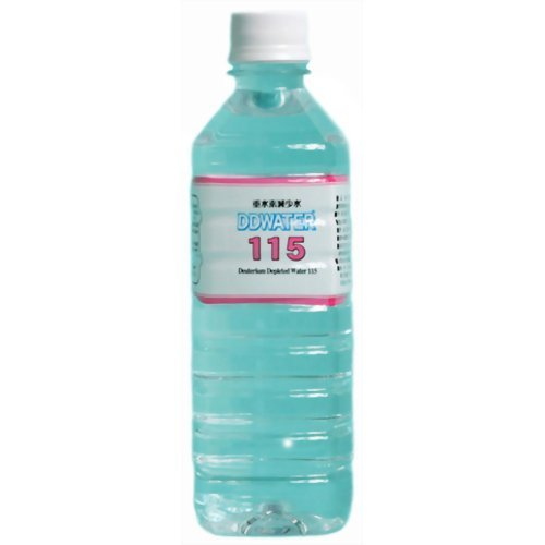 DDWATER 115 (115ppm) 500mlX8 this by DDW (deuterium depleted water)
