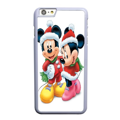 Coque,Coque iphone 6 6S 4.7 pouce Case Coque, Minnie En Mickey Mouse Cover For Coque iphone 6 6S 4.7 pouce Cell Phone Case Cover blanc