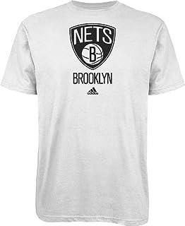 Adidas Brooklyn Nets NBA Full Primary Logo T-shirt camisa - White
