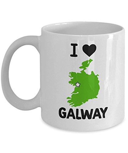 Galway Ireland Mug - 11oz and 15oz Ceramic Mugs for Coffee or Tea- 11 oz