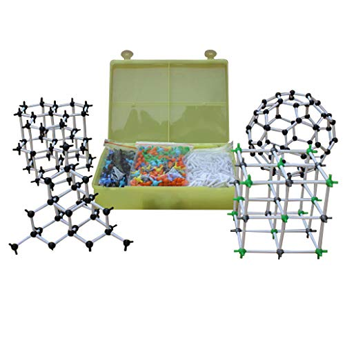 Winner666 2019 New Organic Chemistry Scientific Atom Molecular Model Teach Class Kit Set (Colorful)