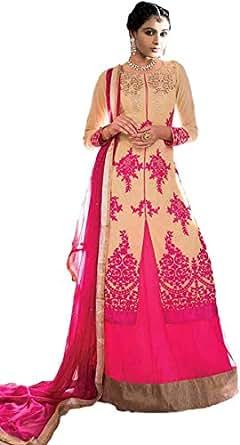 Multi Color Festive Kameez & Salwar Set For Women