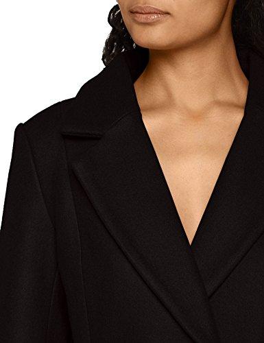 Coat Wool Negro Otw Black Only Onlrachel Abrigo para Mujer Black CC qT8S5E