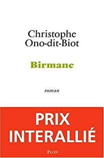 Birmane - Christophe Ono-dit-Biot