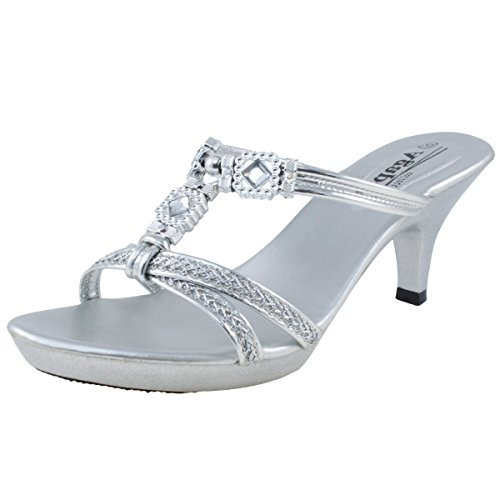 Image of Agape KATHLEEN-30 Jeweled Platform Heel