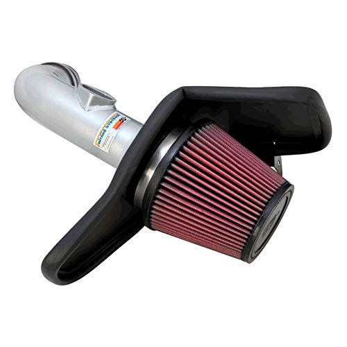 (K&N Performance Cold Air Intake Kit 69-4523TP with Lifetime Filter for Chevrolet Camaro 3.6L V6)