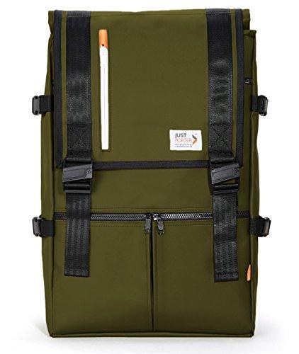 Just Porter Sable Rucksack Rolltop Backpack | 16'' Laptop | 29L-34L by Just Porter