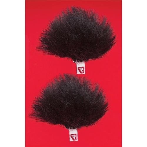 Rycote Ristretto Low-Profile Windjammer for Lavalier Mic Foams, Black