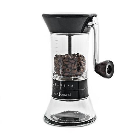Handground Precision Coffee Grinder: Manual Ceramic Burr Mill - (Hand Ceramic)