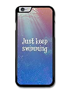 Accessories Finding Nemo Just Keep Swimming Dory Disney Animation Movie Quote case for iphone 5c