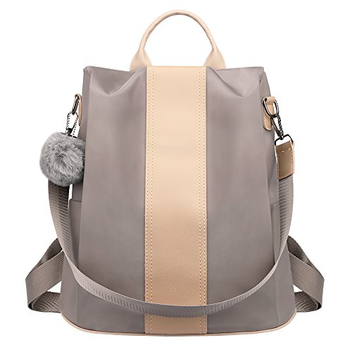 SAMSHOWME Women Backpack Purse shoulder Bag Nylon Waterproof Anti-theft School Bags for Girls