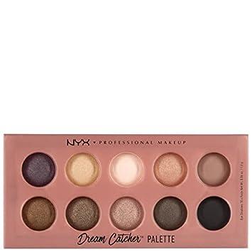 NYX Professionelle Makeup Dream Catcher Shadow Palette Dusk Til Mesmerizing Nyx Cosmetics Dream Catcher Palette
