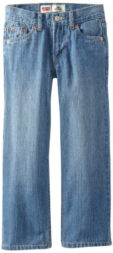 Levi's Boys' Big 550 Relaxed Fit Jeans, Catapult, 14