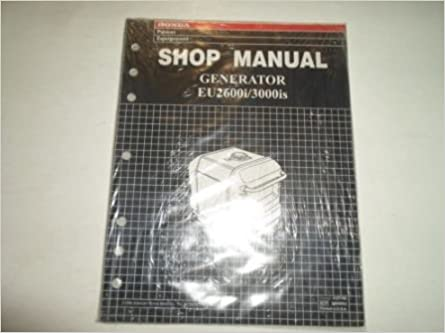 honda 3000 generator service manual