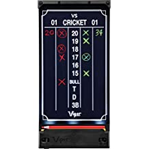 Viper Illumiscore Light Up Dartboard Scoreboard, Cricket and 01 Dart Games