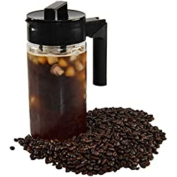 ARAD Iced Brew Coffee Maker, Cold Brew Pitcher with Lid and Fine Mesh Strainer