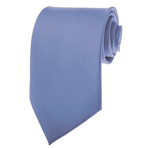 steel blue ties for men - 3
