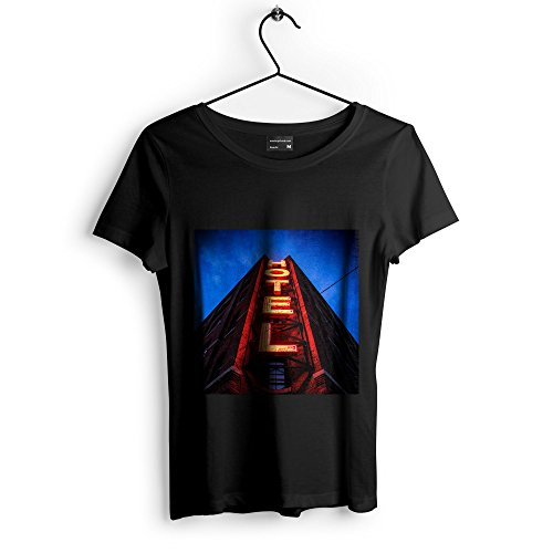 Westlake Art Landmark Light - Unisex Tshirt - Picture Photography Artwork Shirt - White Adult Medium (ED19-76E1D)