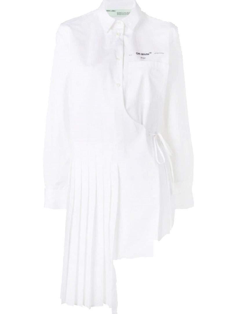 OffWhite Women's OWGA055S197440450110 White Cotton Shirt